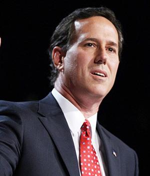 Santorum, Romney in Iowa Dead Heat