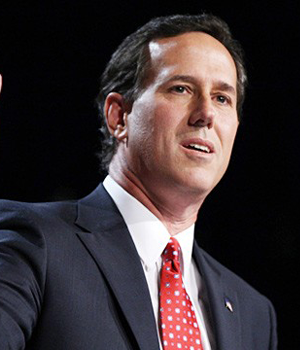 Game On Santorum vs. Romney