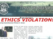 Violating S.C. Ethics Law in Awendaw