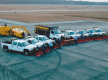Snowplows at Myrtle Beach International Airport