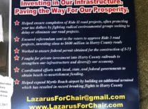 Hyperbole Marks the Lazarus Campaign